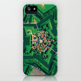 Star Fort Bourtange in the Netherlands iPhone Case