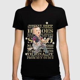Rock Star Johnny Depp T-shirt
