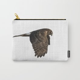 Northern Harrier Hunting, No. 4 Carry-All Pouch
