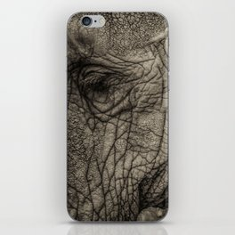 Wrinkles in all the right places iPhone Skin