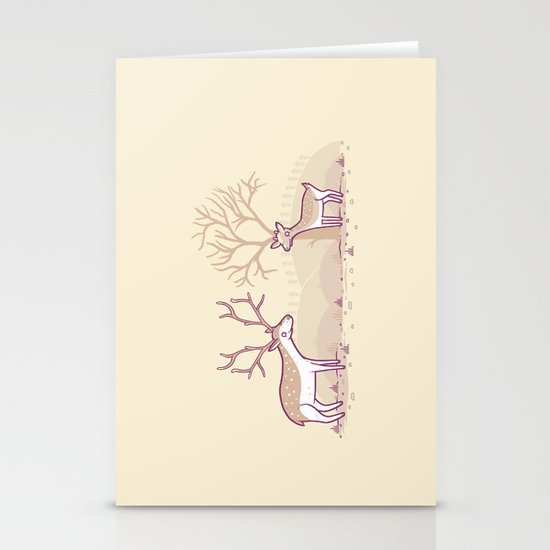 Growing up fast Stationery Cards