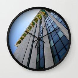 Dalle de verre Wall Clock