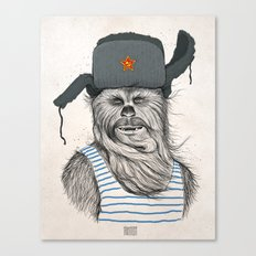 Russian Chewbacca Canvas Print
