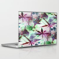 northern lights Laptop & iPad Skins featuring Northern Lights by Cannabis Color Art