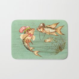 Humanized Fish Courting Bath Mat