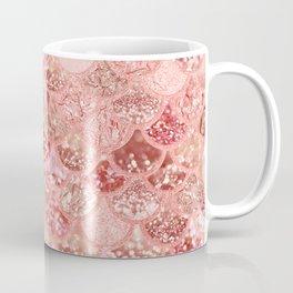Living Coral Mermaid Scales Coffee Mug