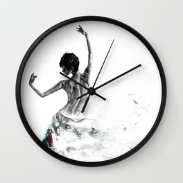Dance Away Wall Clock