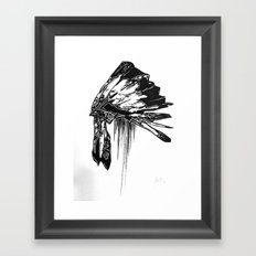 Native Living Framed Art Print