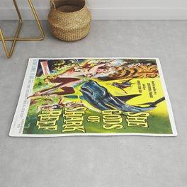 Vintage poster - She Gods of Shark Reef Rug
