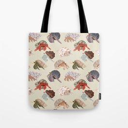 Hermit Crabs Tote Bag