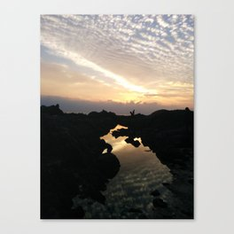 A map or? Canvas Print