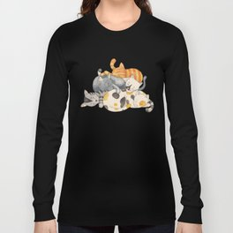 Cat Nap (Siesta Time) Long Sleeve T-shirt