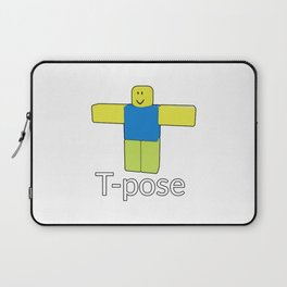 Bandage Roblox Face Id Oof Laptop Sleeves To Match Your Personal Style Society6