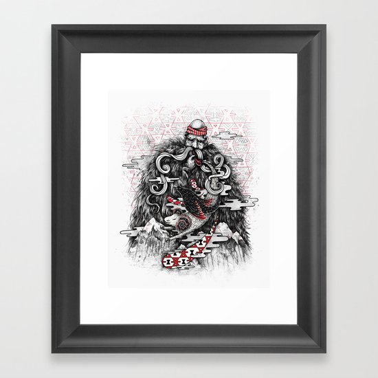 Call of Tradition Framed Art Print