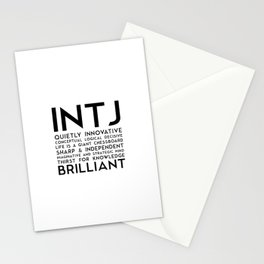 INTJ Stationery Cards