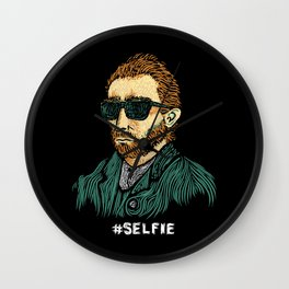 Van Gogh: Master of the #Selfie Wall Clock