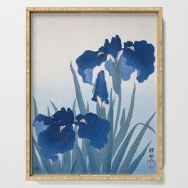 Irises Serving Tray