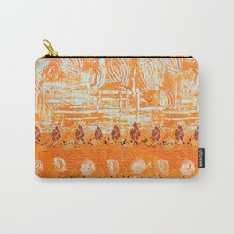 autumn orange two from two Carry-All Pouch