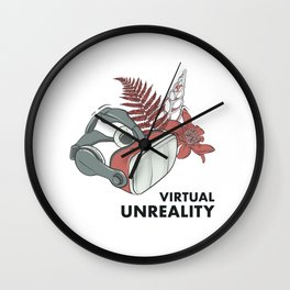 Virtual unreality Wall Clock