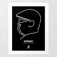 notorious big Art Prints featuring Notorious by Ant Errickson