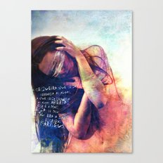 Blindness Canvas Print