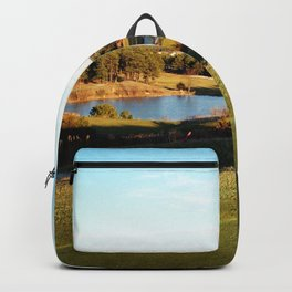 A Golfer's Paradise Backpack