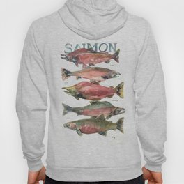 Salmon Salmon Salmon Hoody