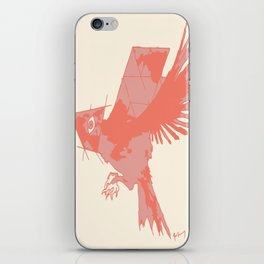 Tilted Bird iPhone Skin