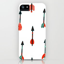 boho arrows iPhone Case