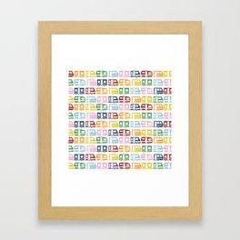 Camp Color Framed Art Print