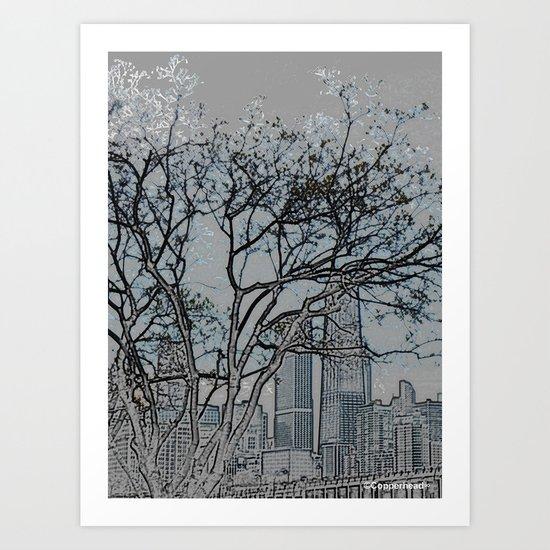 """Blue Morning"" Art Print"