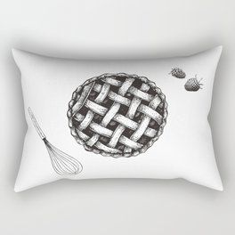 Pie Rectangular Pillow