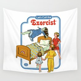 LET'S CALL THE EXORCIST Wall Tapestry