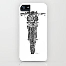 Vintage Italian 860 GTS Motorcycle iPhone Case