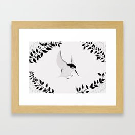 Hummingbird Reprise Framed Art Print
