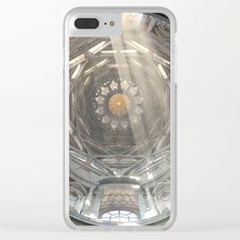 Holy geometrical ascension Clear iPhone Case