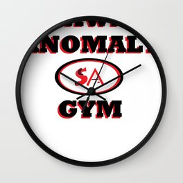 Shawn's Anomaly Gym Wall Clock