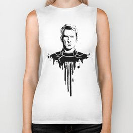 Avengers in Ink: Captain America Biker Tank