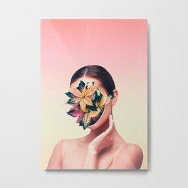 PLANT FACE Metal Print