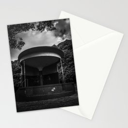 mono bandstand Stationery Cards