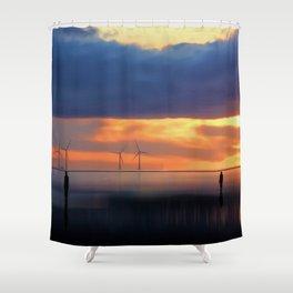 Gormley Iron Men Shower Curtain