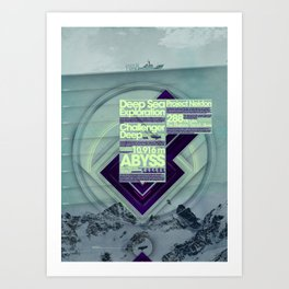 Project Nekton - Exploration #1 Art Print