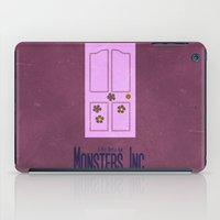 monster inc iPad Cases featuring Monsters Inc. by Matt Bacon