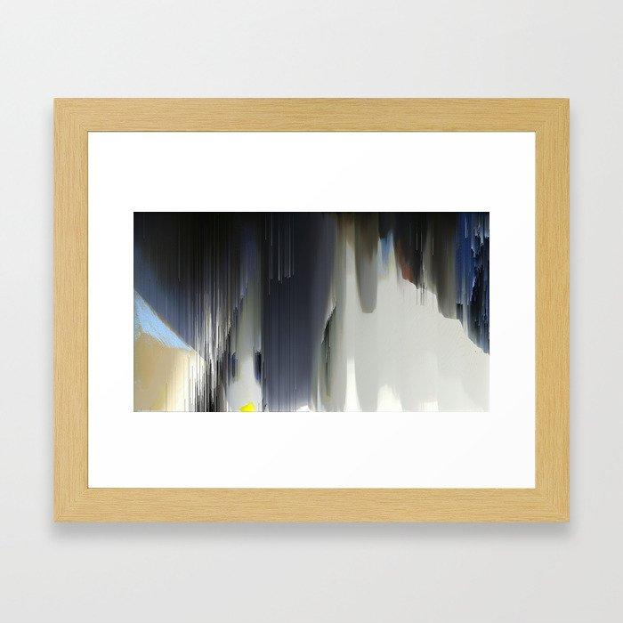 Wide Calm Jazz Framed Art Print