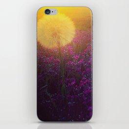 Dandy morning iPhone Skin