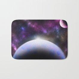 Ice Planet Bath Mat