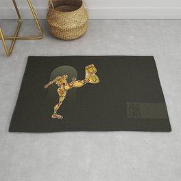Capoeira Cyborg n°2 Rug