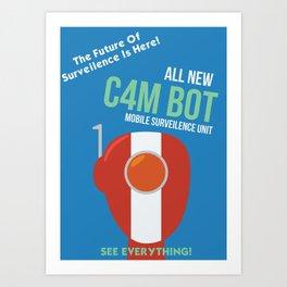 C4M BOT Art Print