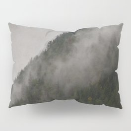 Revelstoke Forest Mists Photo Art Pillow Sham