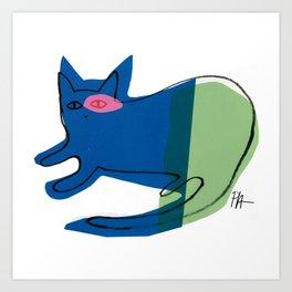 CAT CAT Art Print